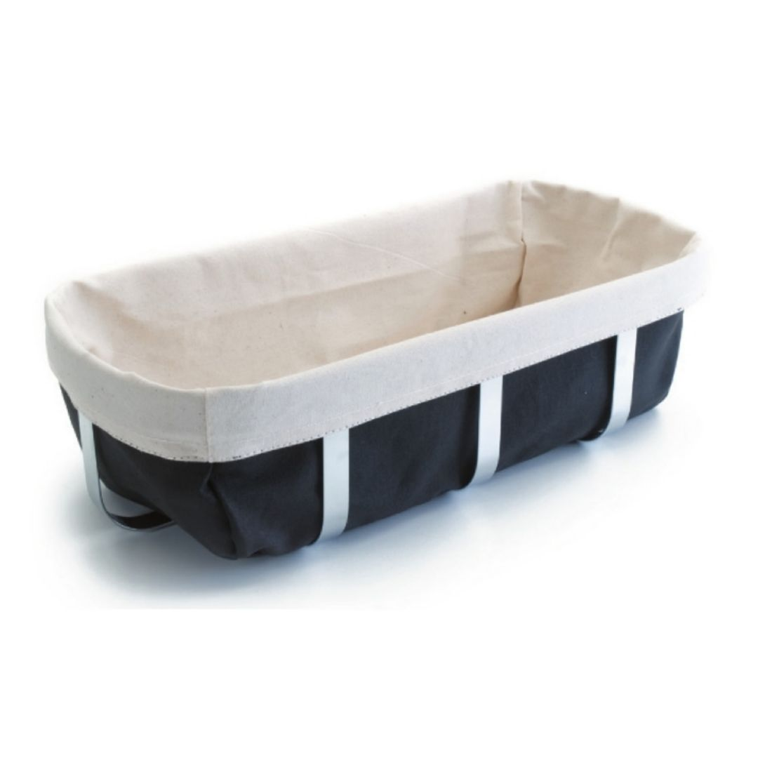 Košík na pečivo textilní