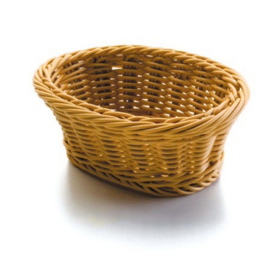 Košík na pečivo polypropylen - oválný