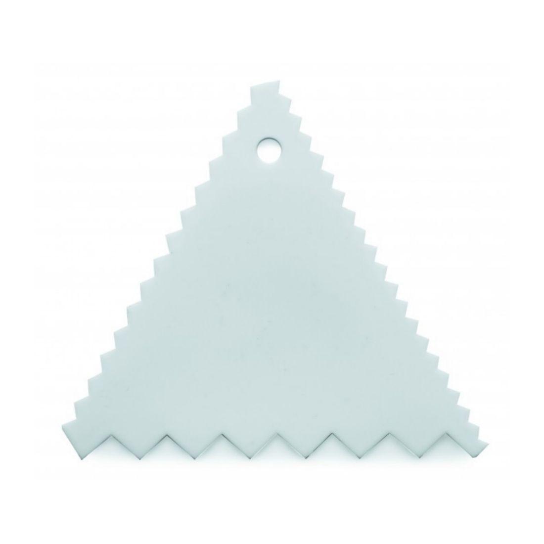 Karta plastová trojúhelníková 90 mm