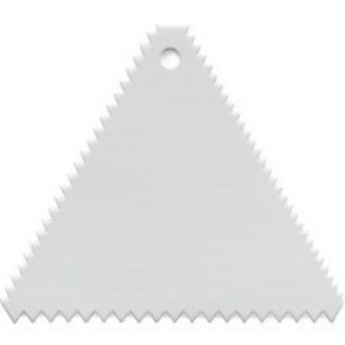 Karta plastová trojúhelníková 100 mm