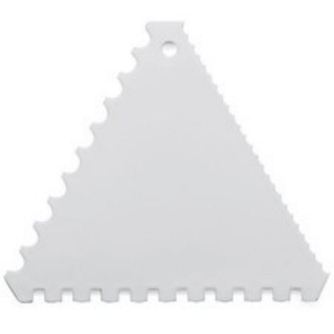 Karta plastová trojúhelníková 110 mm