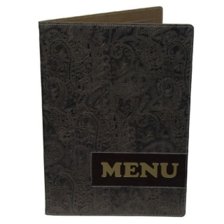 Menu karta Luxury A4
