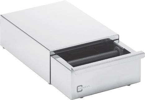 Zásuvka na použitou kávu, roz. 19,5 x 27 x 9 cm
