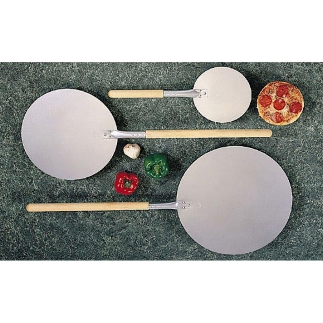 Lopata na pizzu kulatá 340 mm, dl. 890 mm