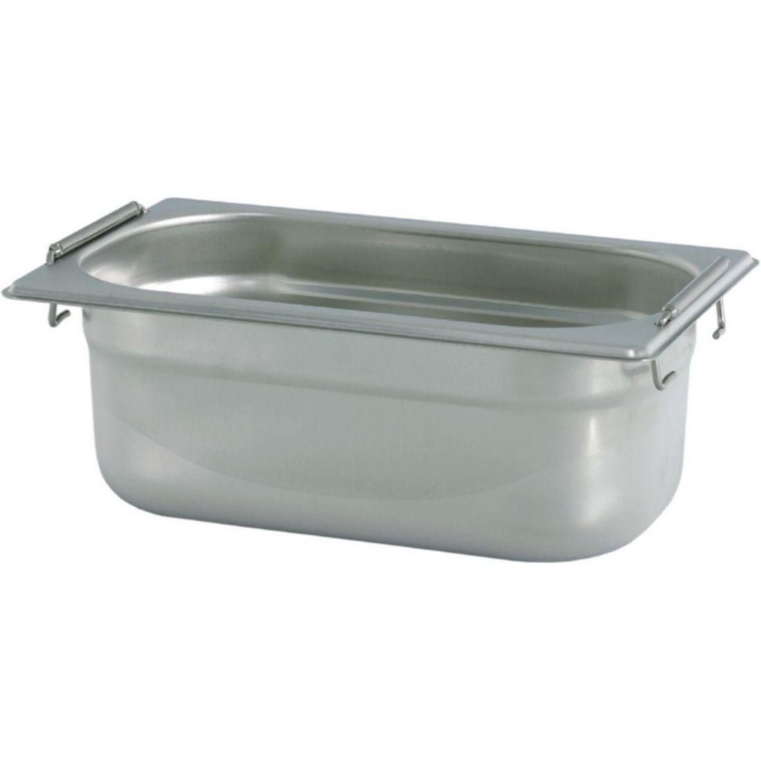 Gastronádoba Profi se sklápěcími úchyty GN 1/3 040 mm