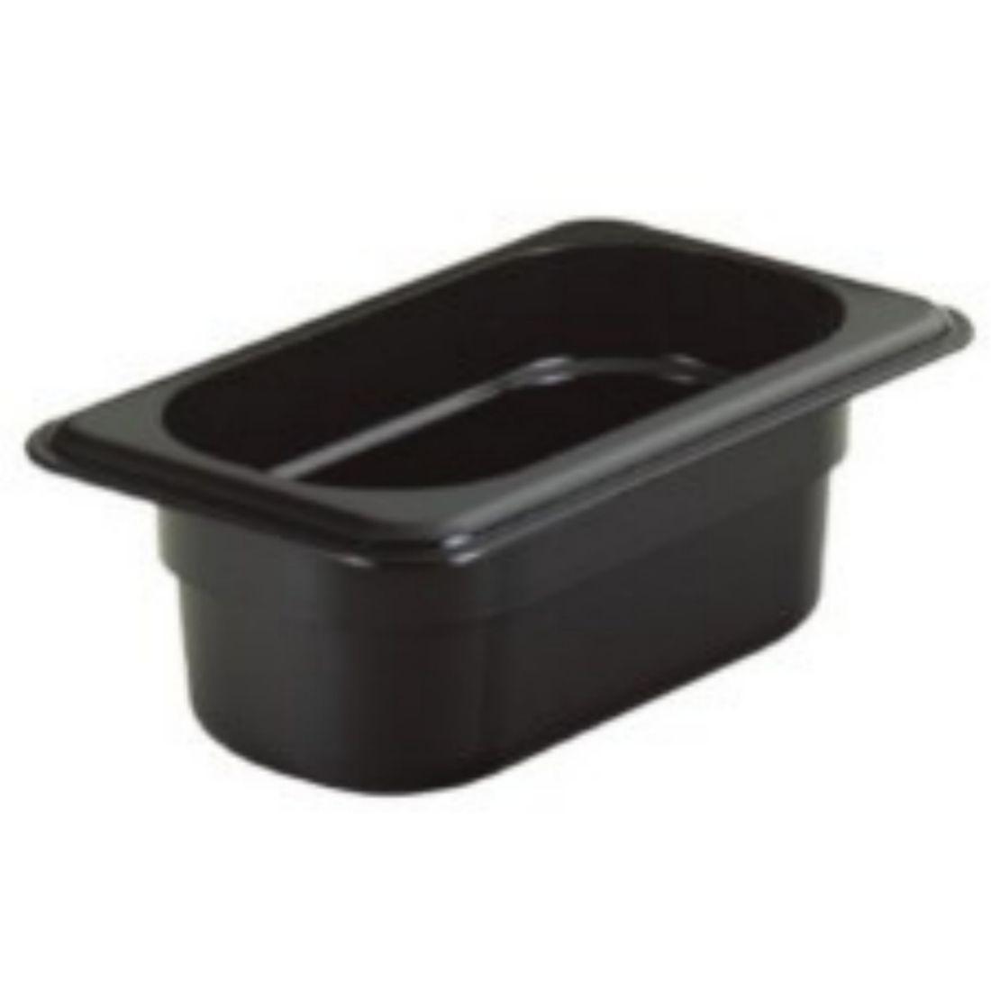 Gastronádoba polykarbonátová GN 1/3, černá