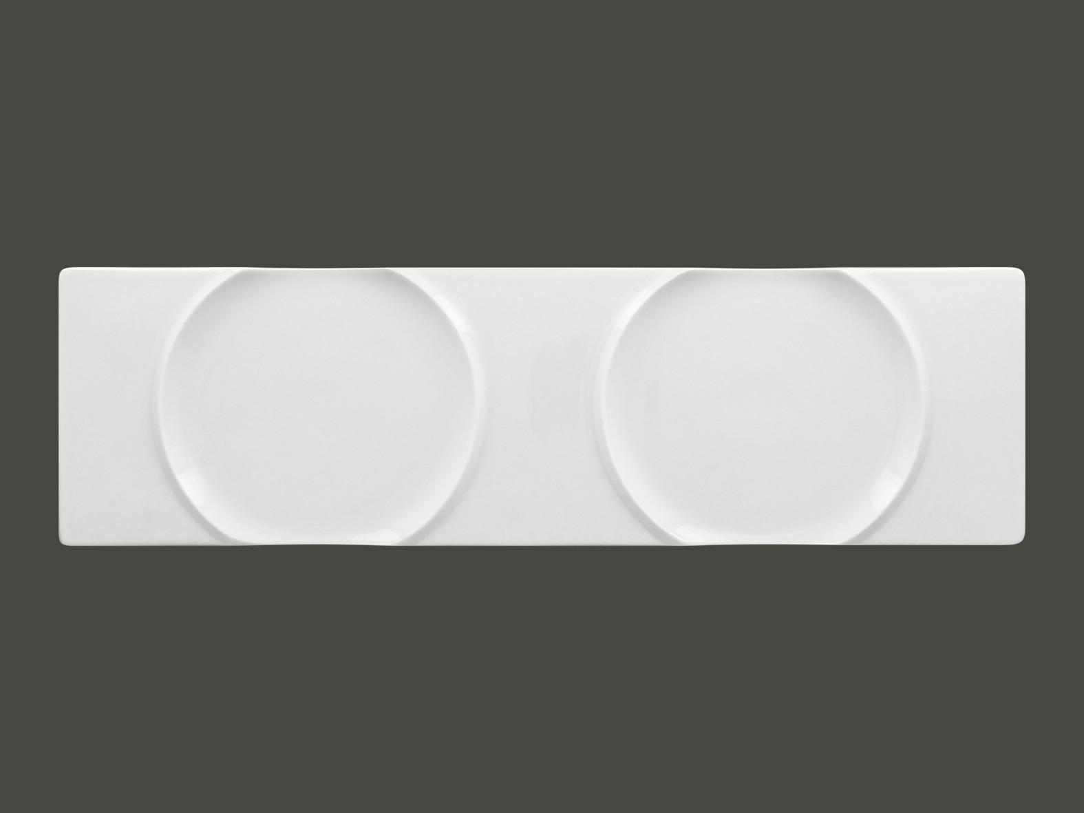 Moon talíř pro bambusový okraj a zvon 41×12 cm