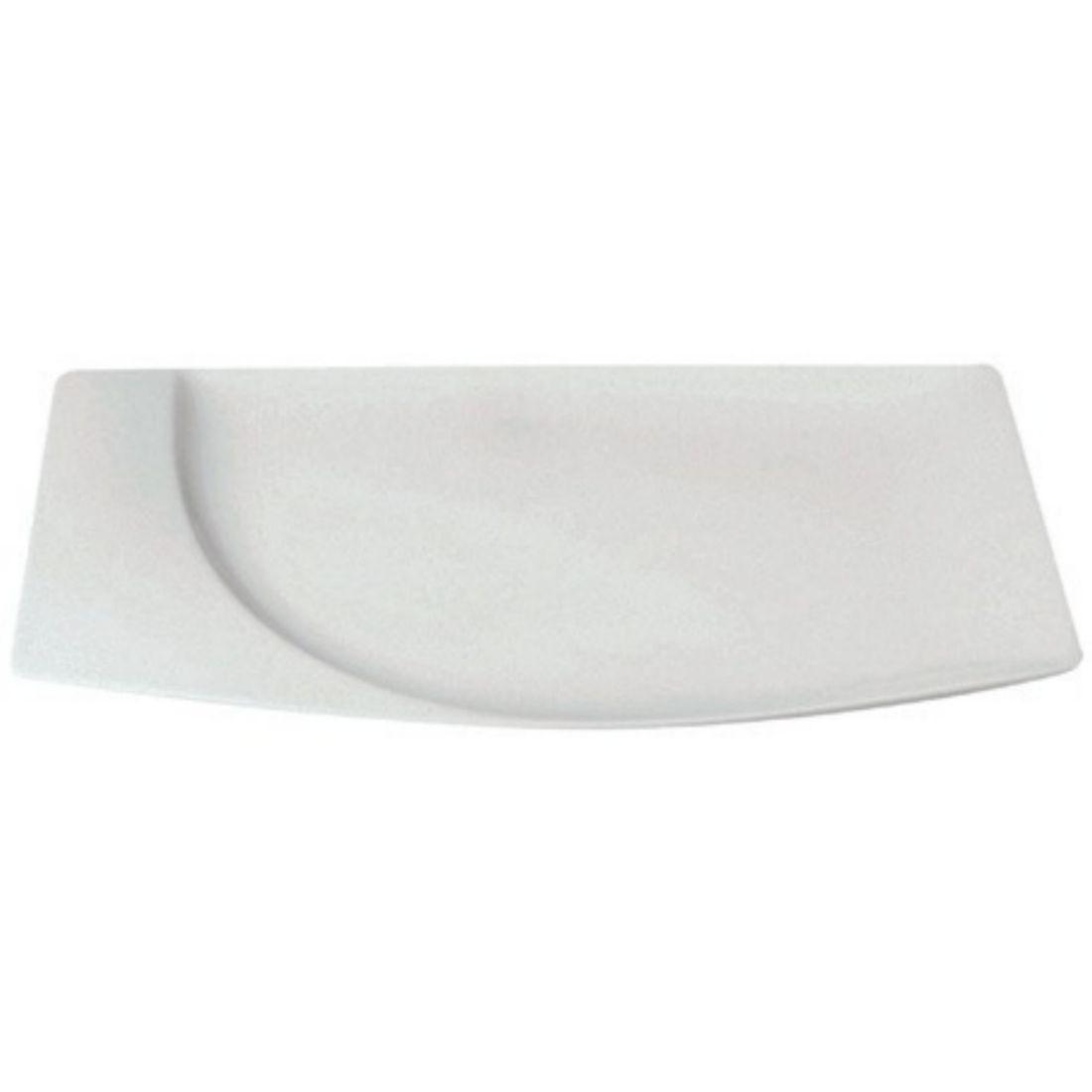 Mazza Talíř mělký obdélný 20 x 13 cm