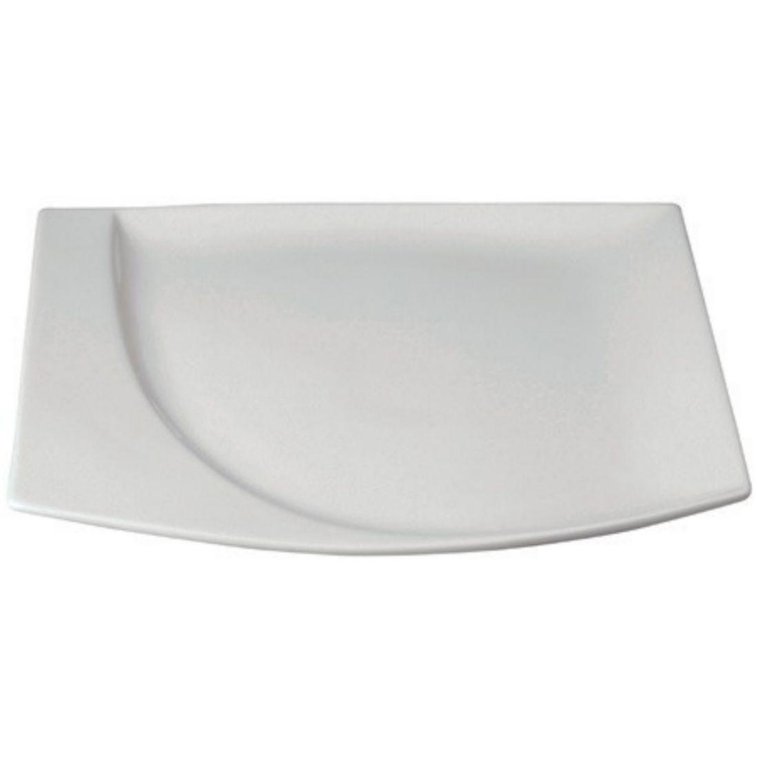 Talíř mělký čtvercový 26 x 23,5 cm
