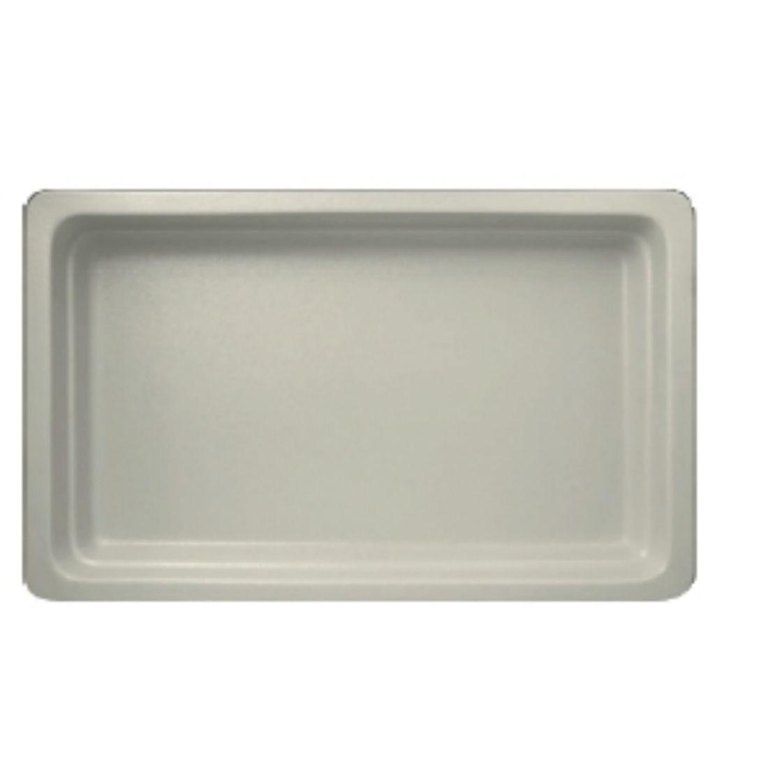 Gastronádoba porcelánová Neofusion GN 1/1 22 mm bílá mat