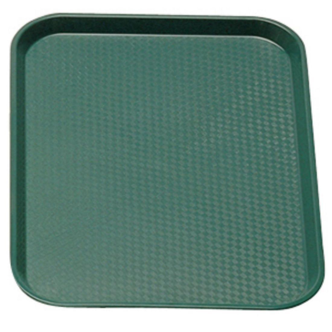 Podnos Fast Food - zelený 300 x 410 mm