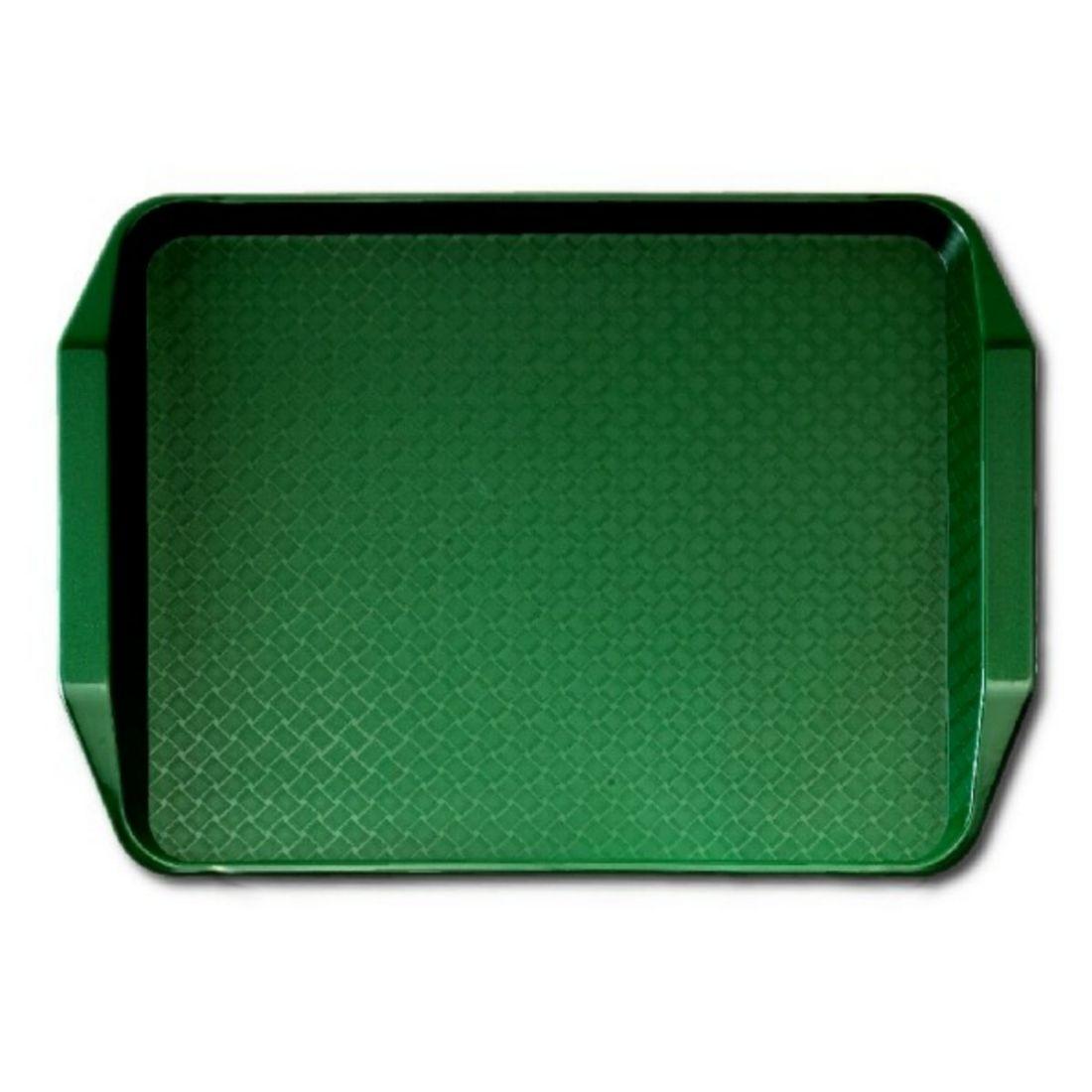 Podnos jídelní Fast Food - zelený 30 x 41 cm