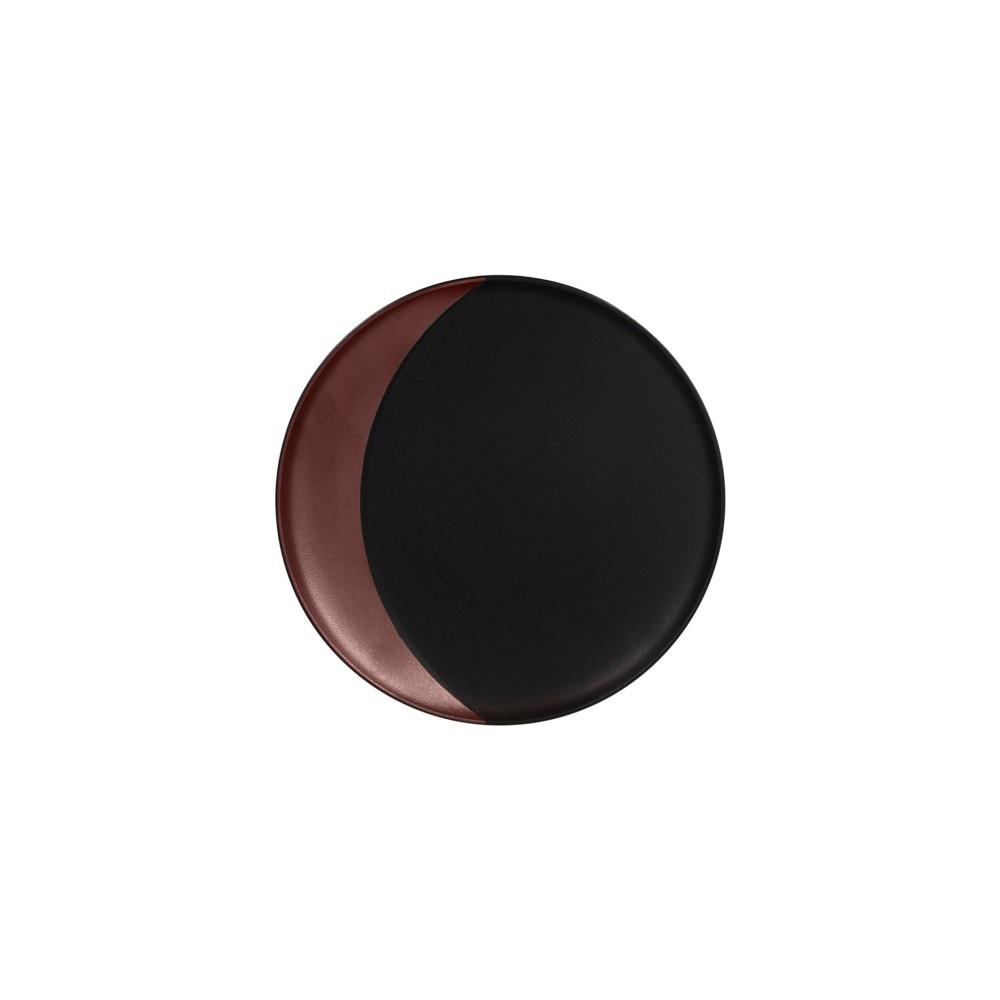 Metalfusion talíř hluboký pr. 24 cm, černo-bronzový