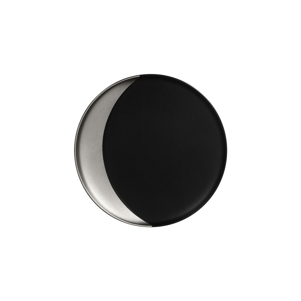 Metalfusion talíř hluboký pr. 27 cm, černo-stříbrný