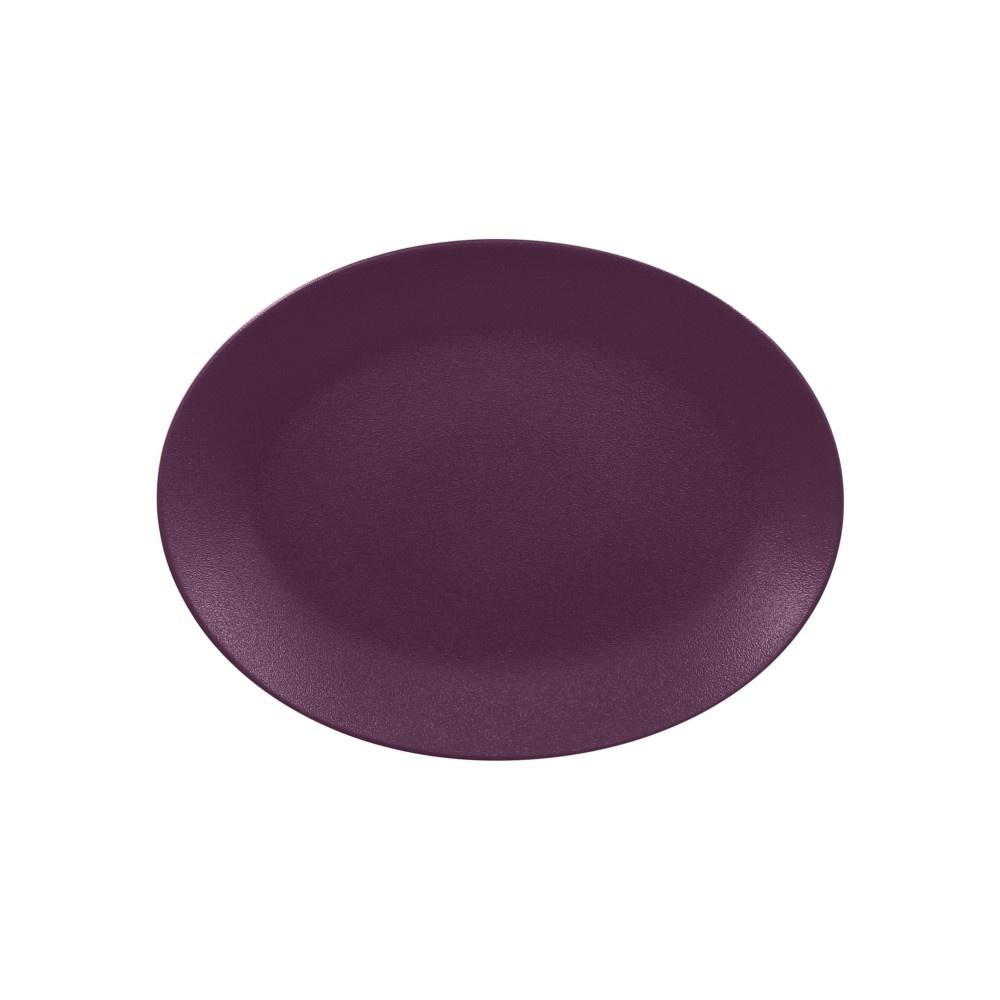 Neofusion Mellow talíř oválný 36x27 cm, švestkově-fialový