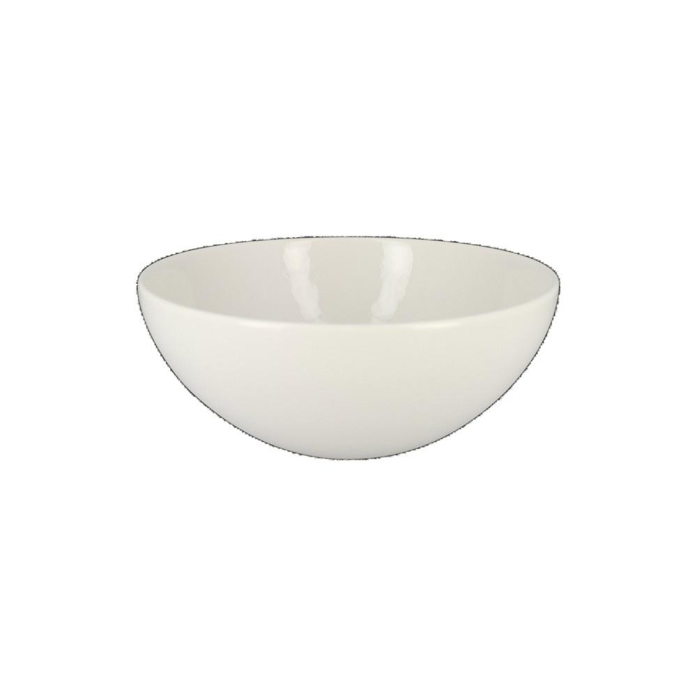 VINTAGE miska na cereálie pr. 20 cm, bílá
