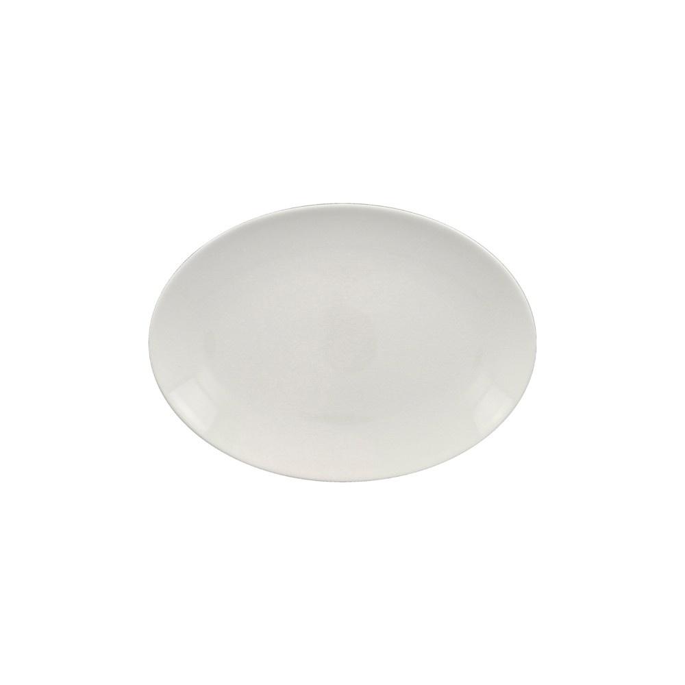 VINTAGE talíř oválný 26x19 cm, bílý