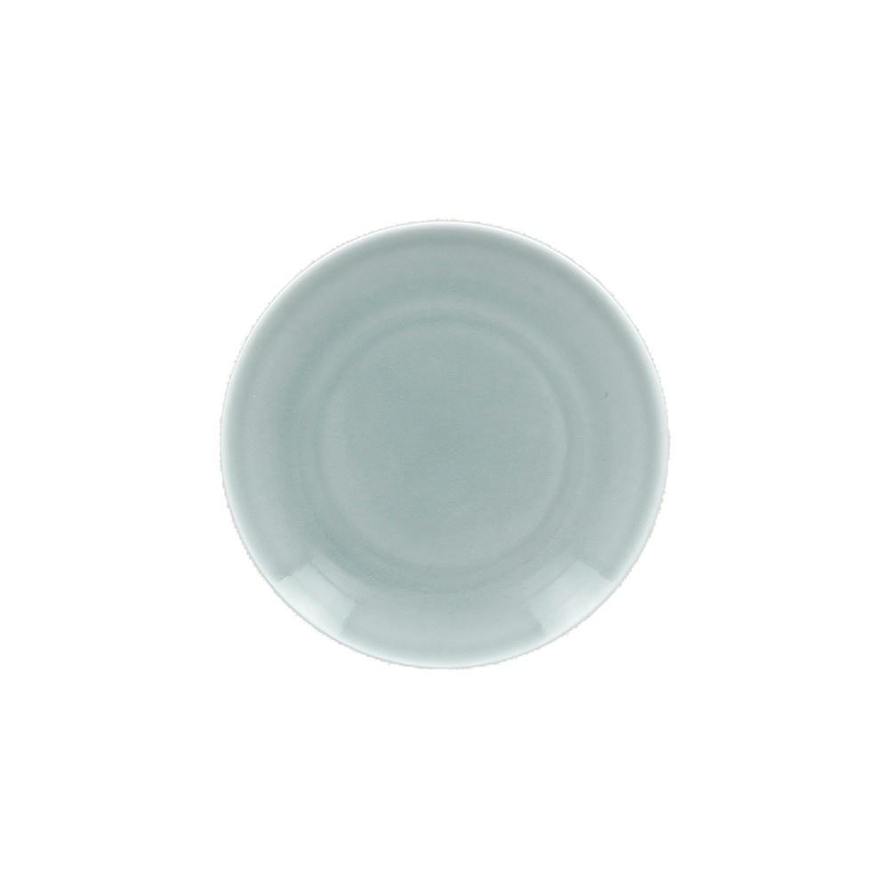 VINTAGE talíř mělký pr. 24 cm, modrý