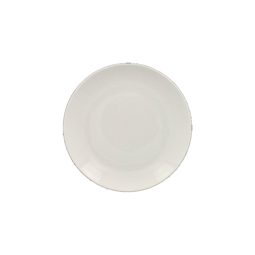 VINTAGE talíř mělký bílý, 24 cm