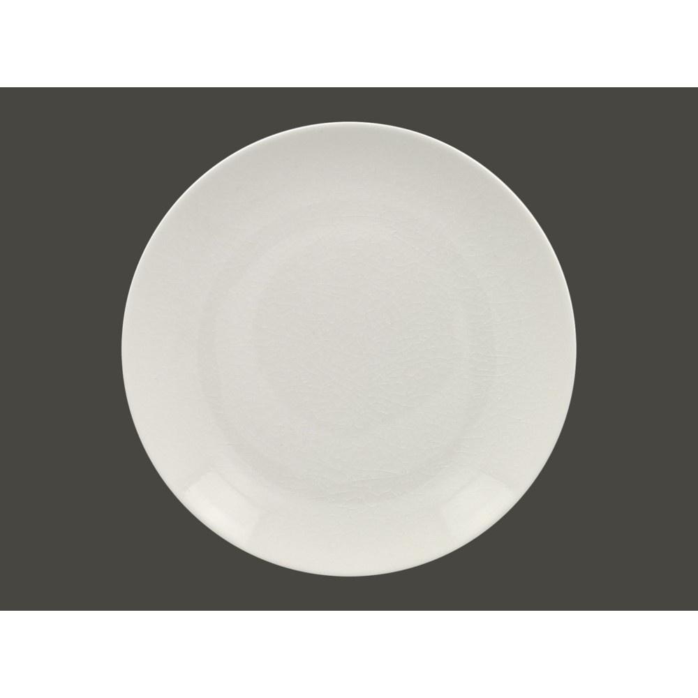 VINTAGE talíř mělký bílý, 31 cm