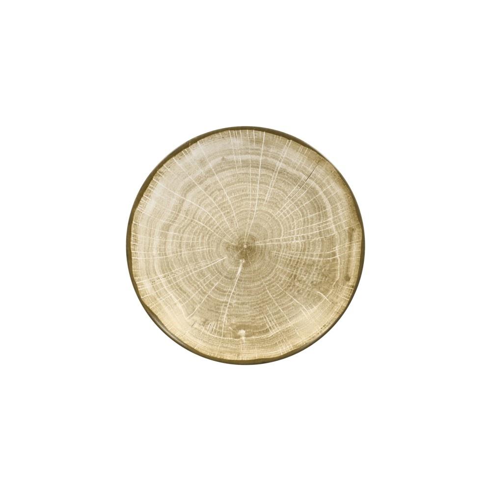 WOODART talíř hluboký pr. 26 cm, zelený