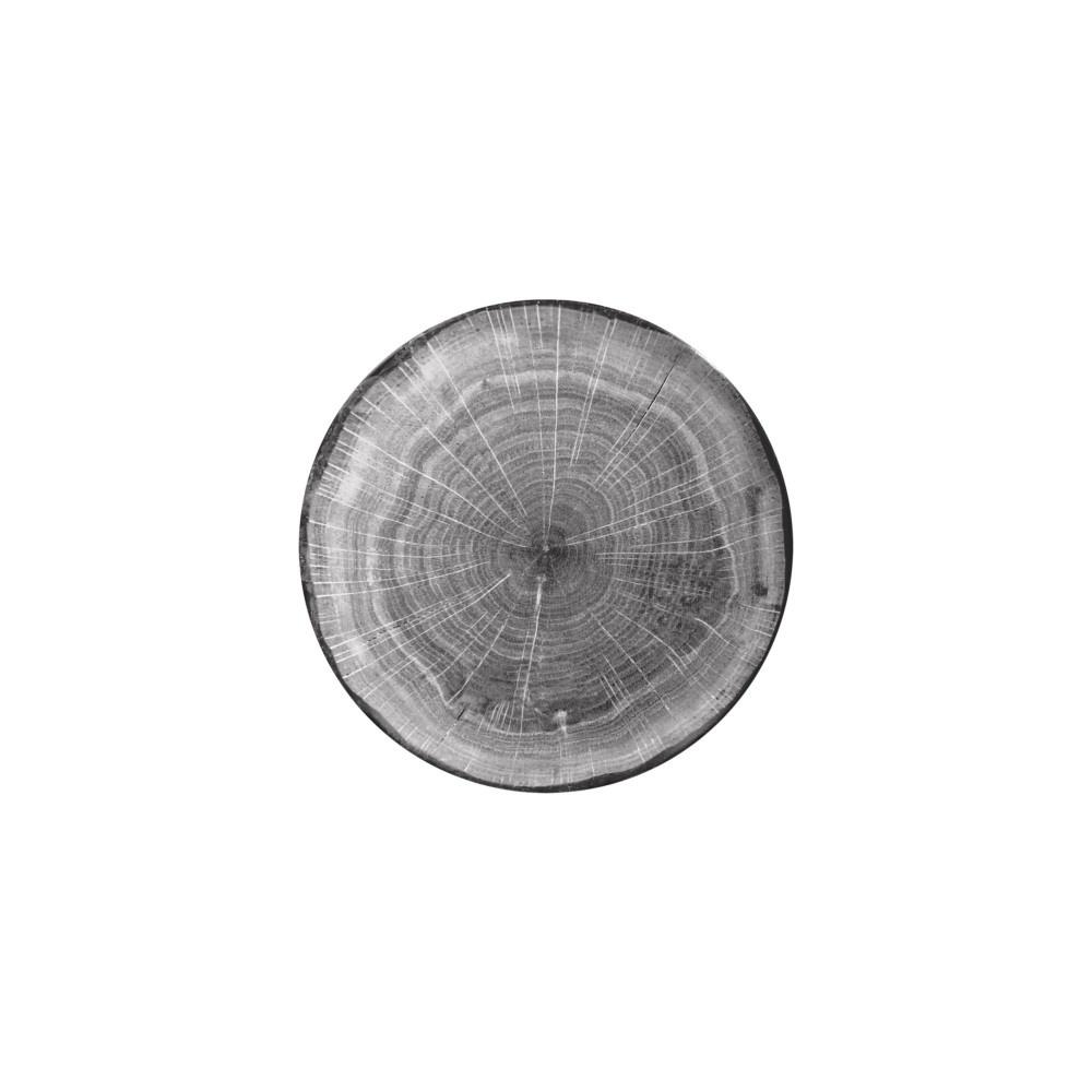 WOODART talíř mělký pr. 24 cm, šedý