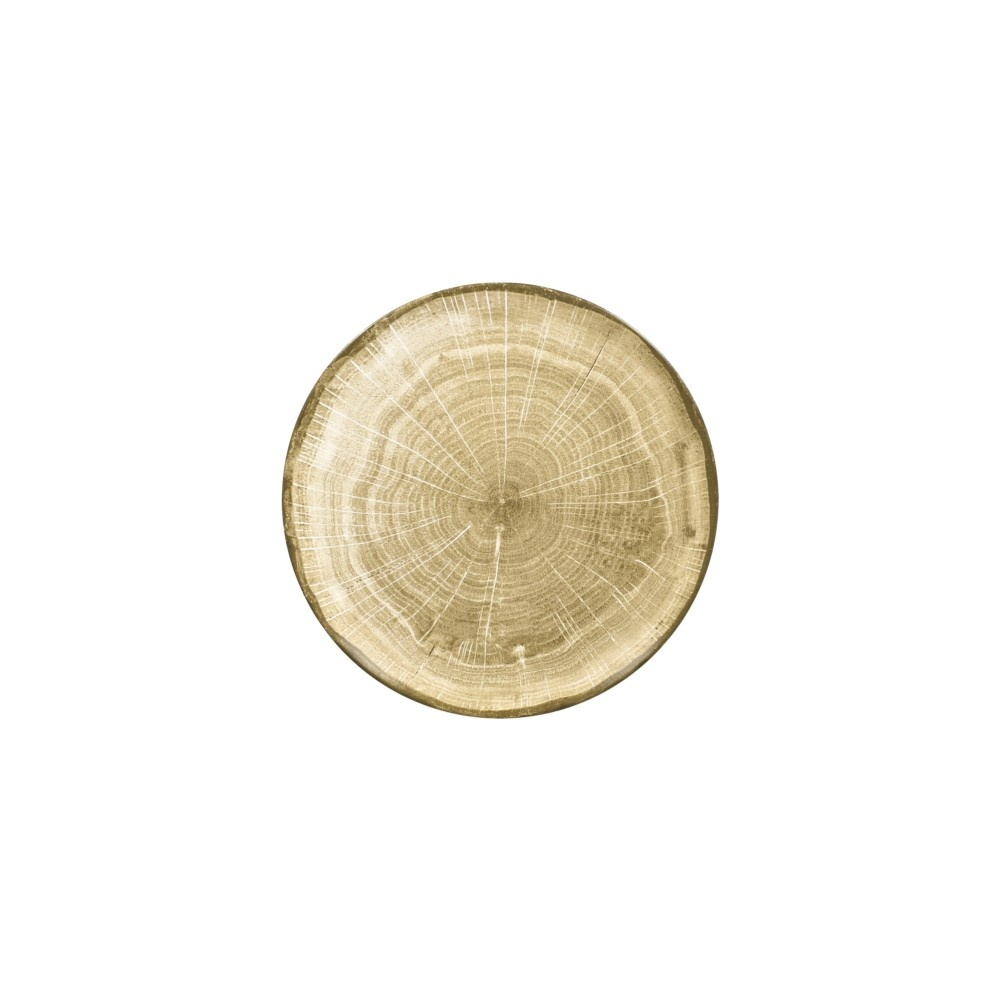 WOODART talíř mělký pr. 24 cm, zelený
