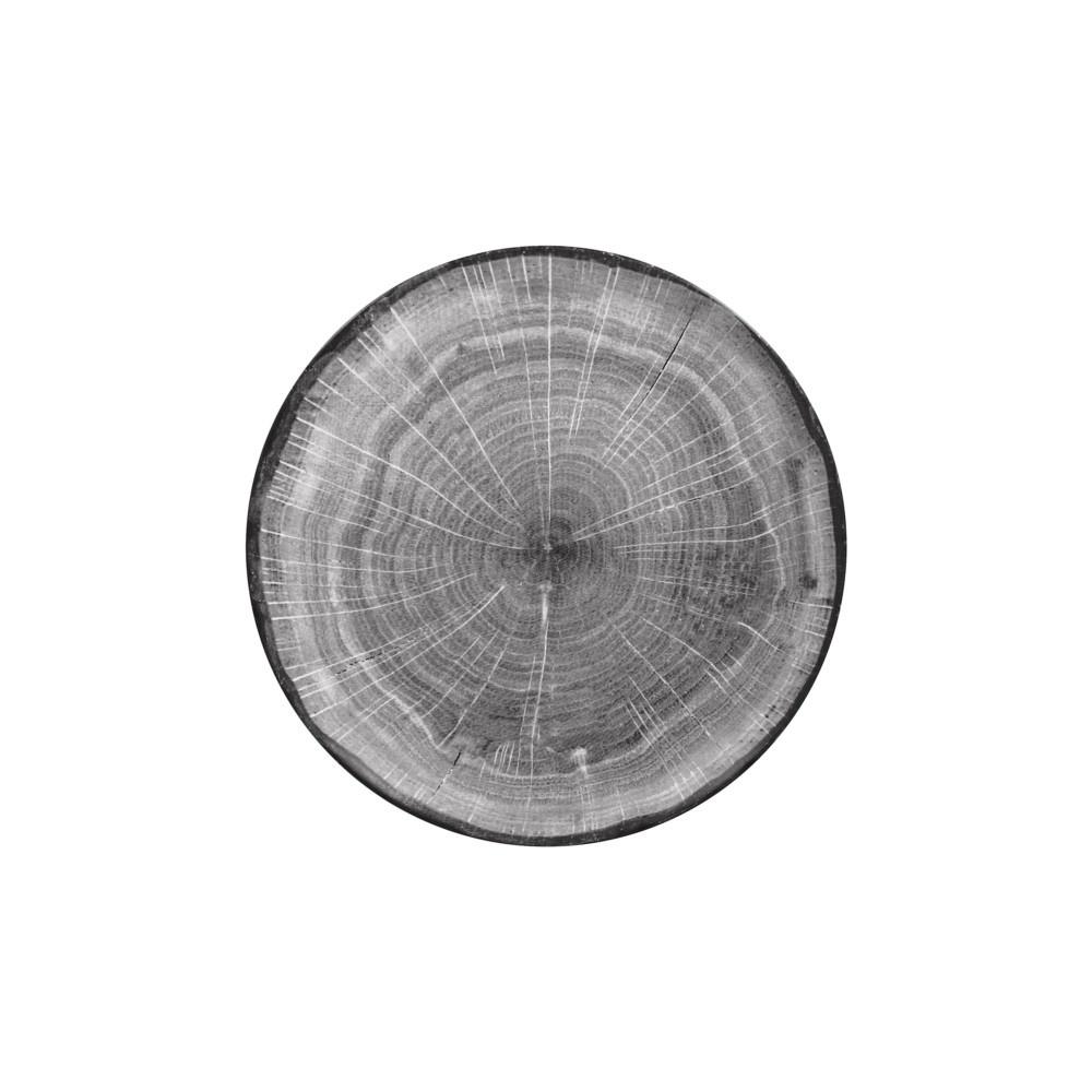 Woodart talíř mělký 29 cm, šedý
