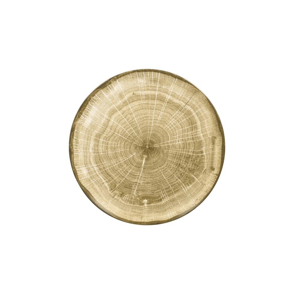 Woodart talíř mělký 29 cm, zelený