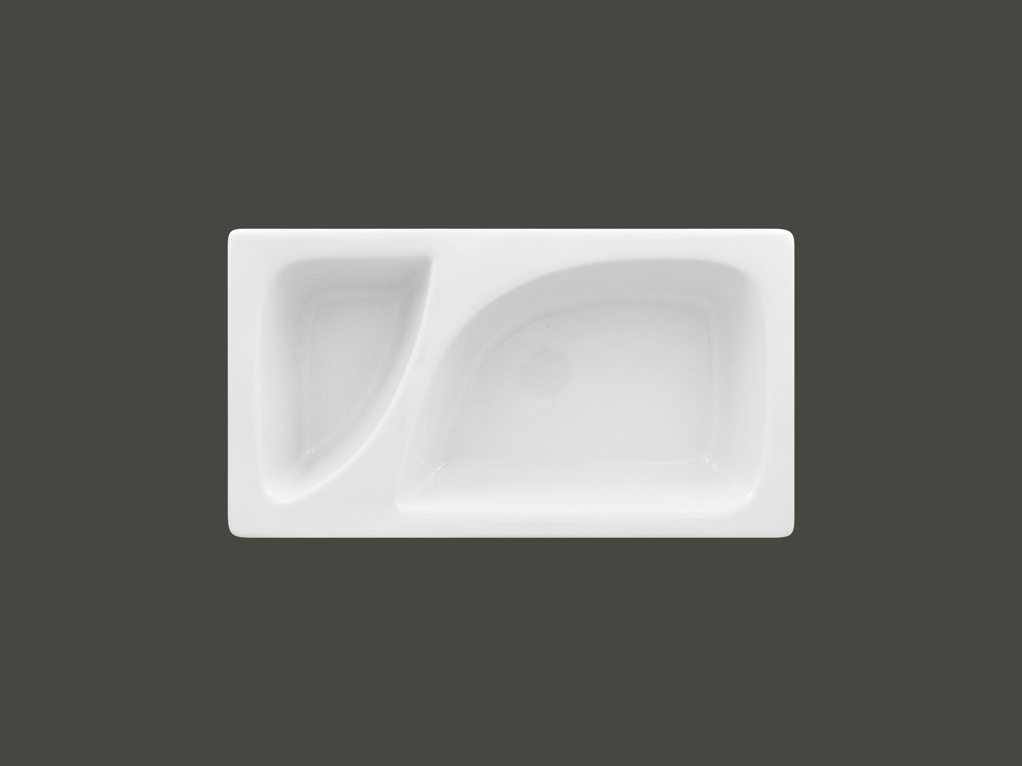 Gastro nádoba porcelánová Zamma Gn 1/3 dělená