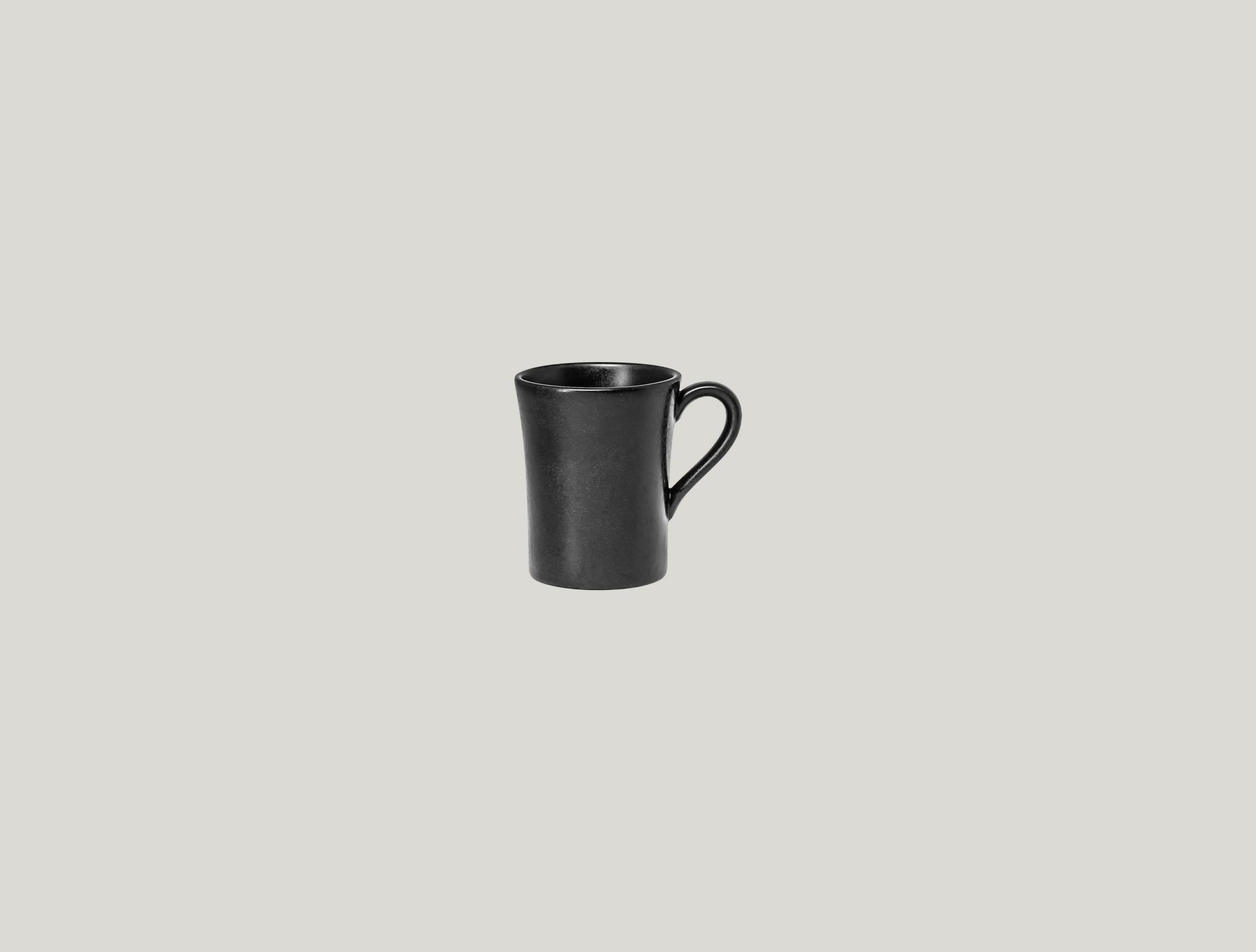 Edge šálek na espresso 9 cl - černá