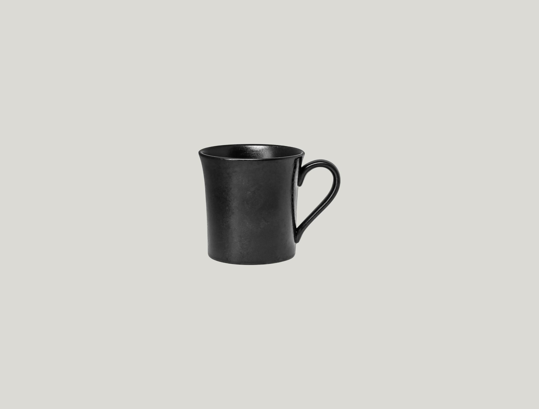 Edge šálek na čaj 25 cl - černá