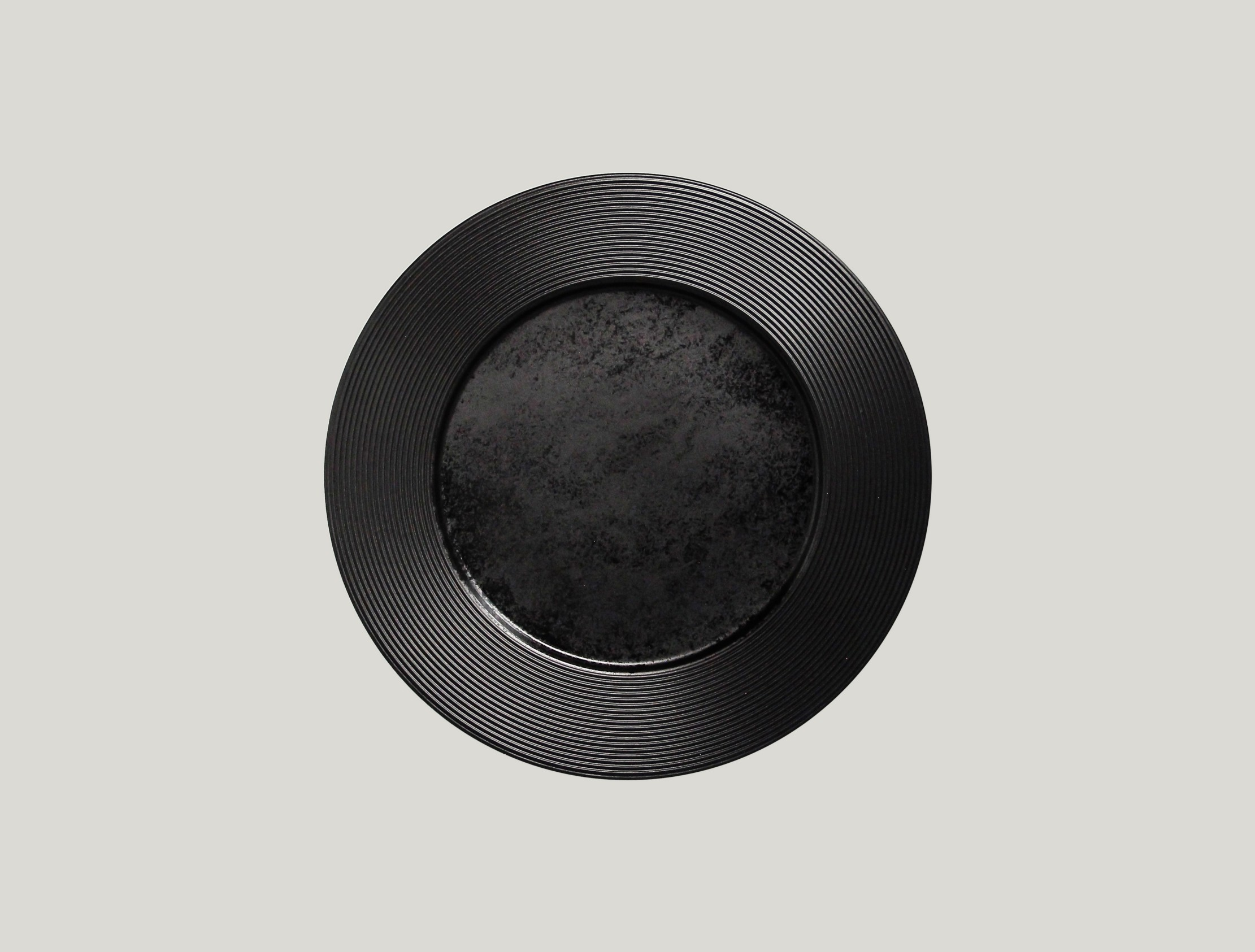 Edge talíř mělký 27 cm - černá