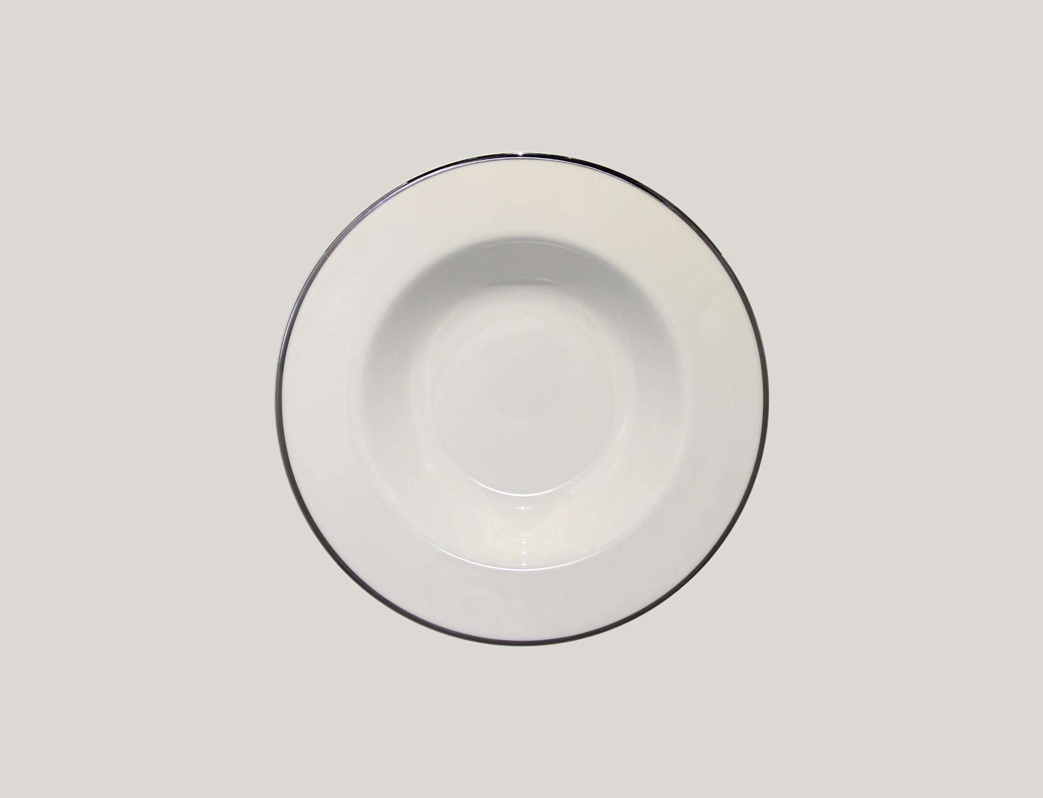 Hluboký talíř - S PLATINOVOU LINII PLATINUM