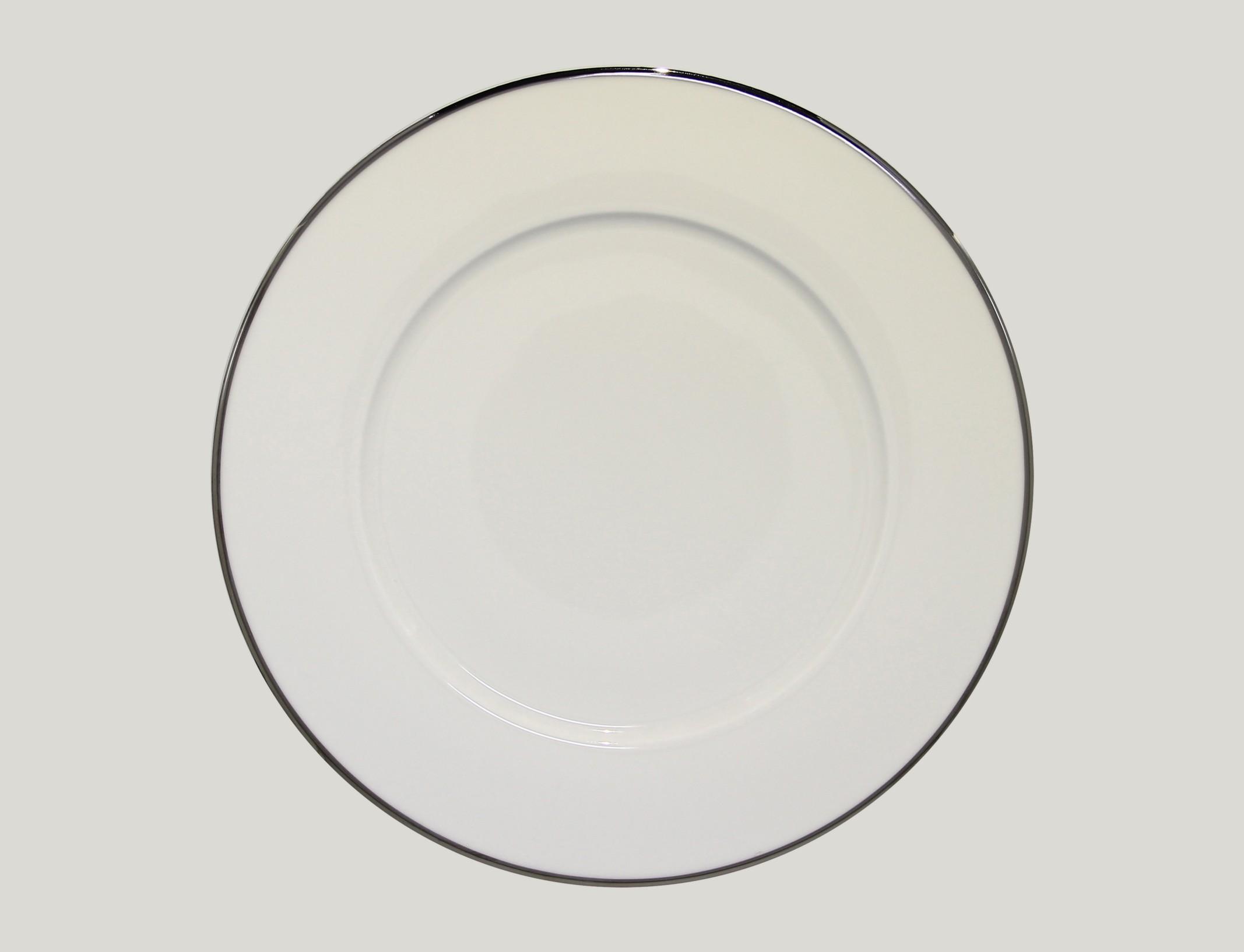 Mělký talíř - S PLATINOVOU LINII PLATINUM