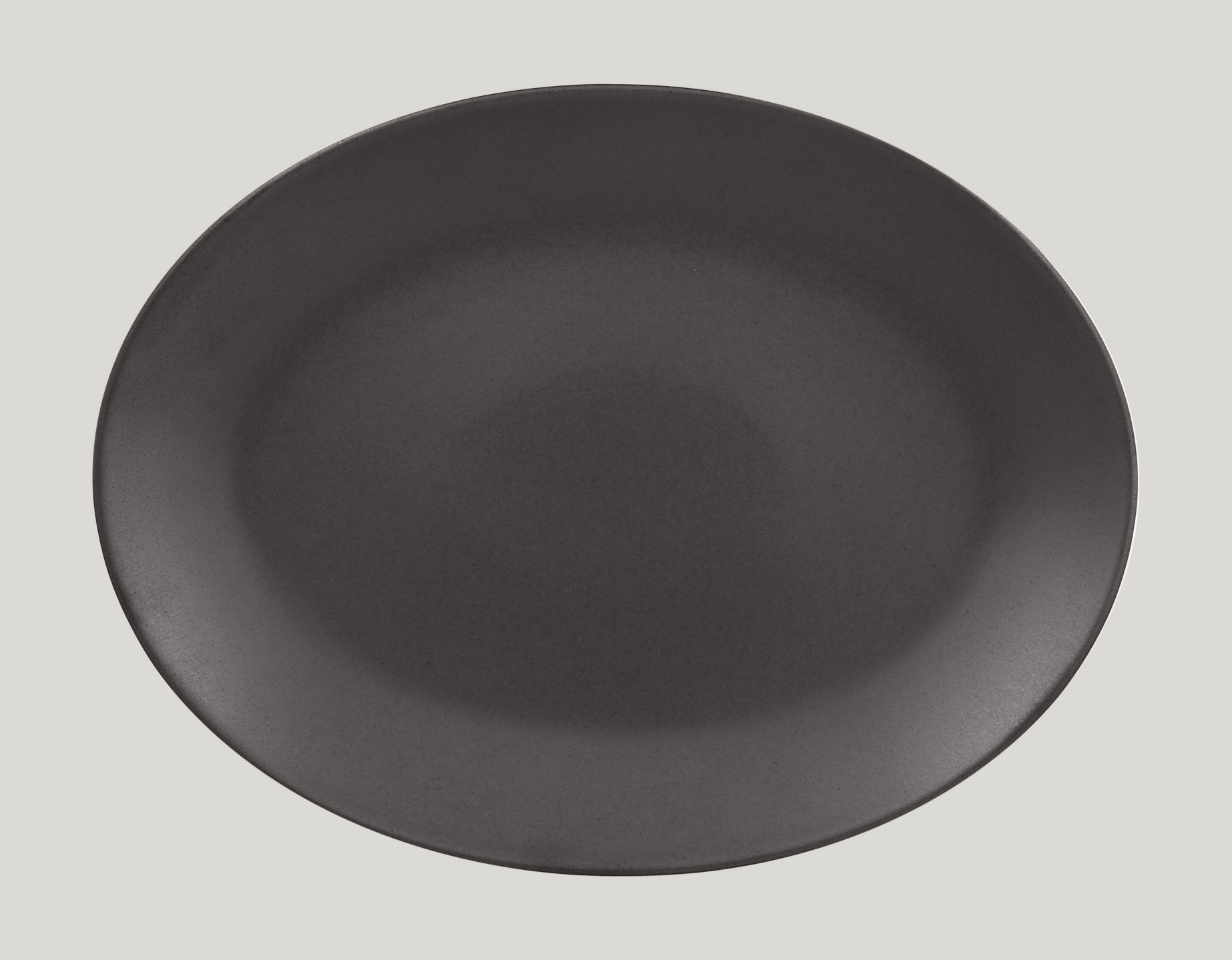 Genesis talíř oválný- kakao 36 x 27 cm