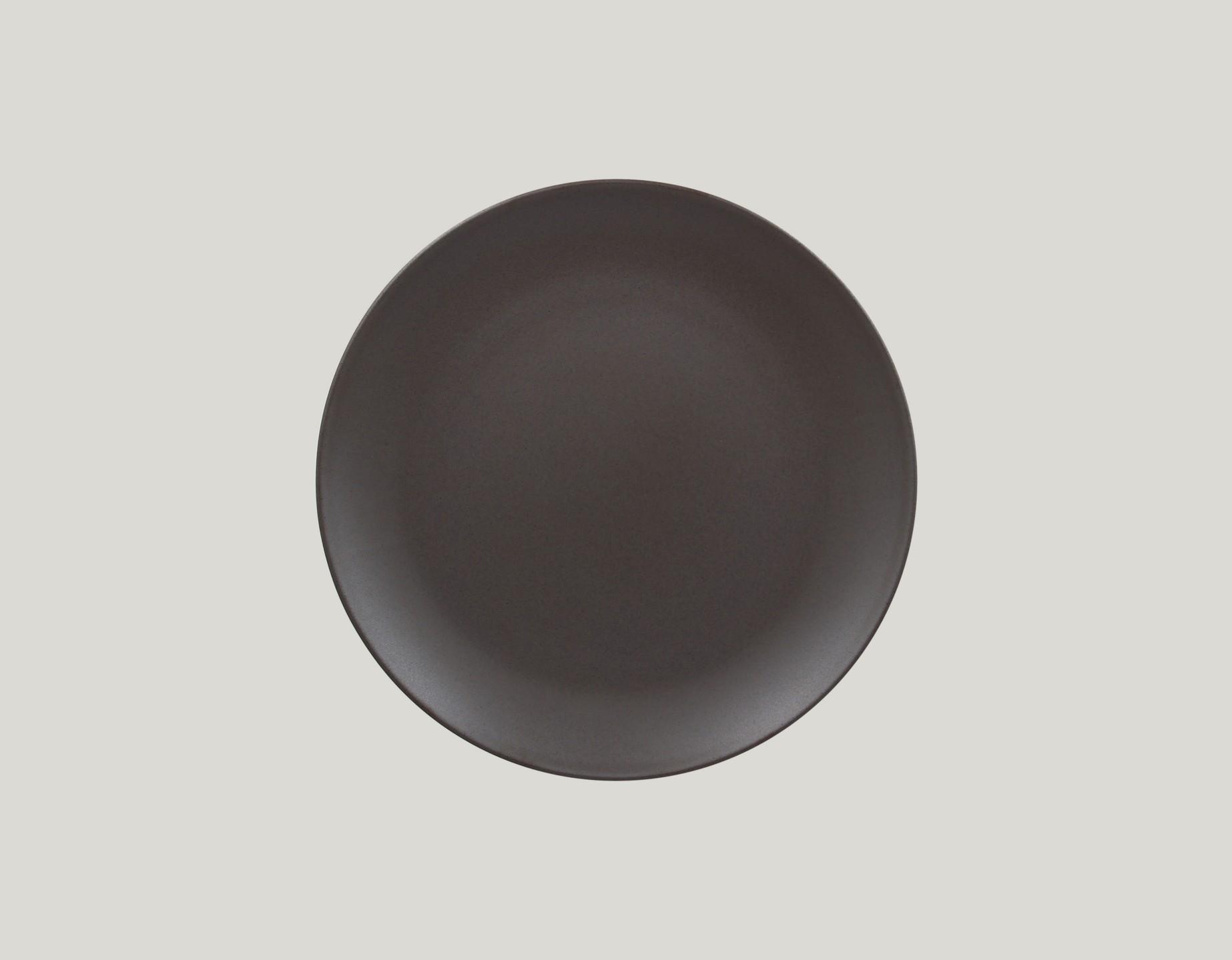 Mělký  talíř - cocoa GENESIS