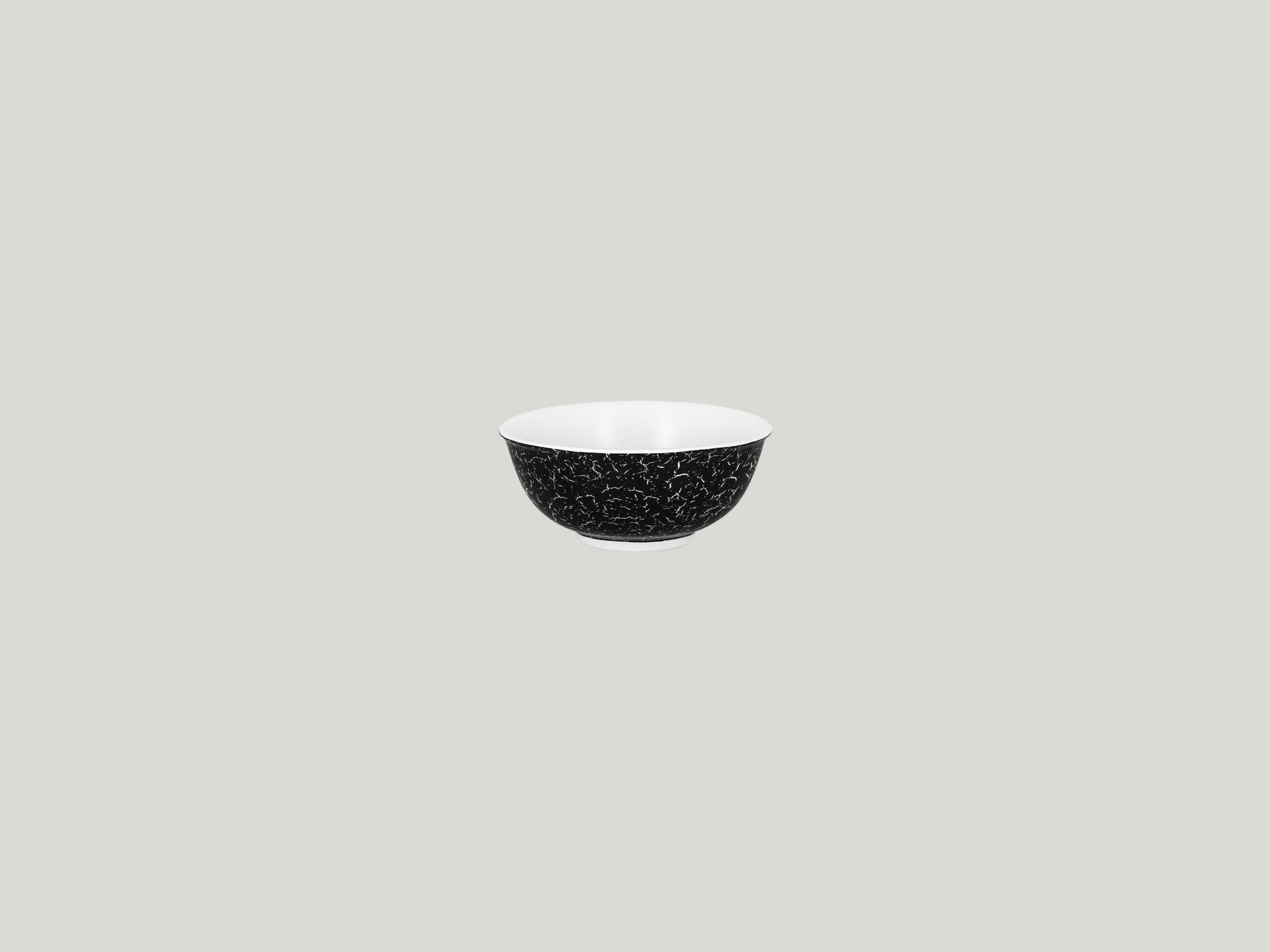 Miska nestohovatelná 16 cl - černá