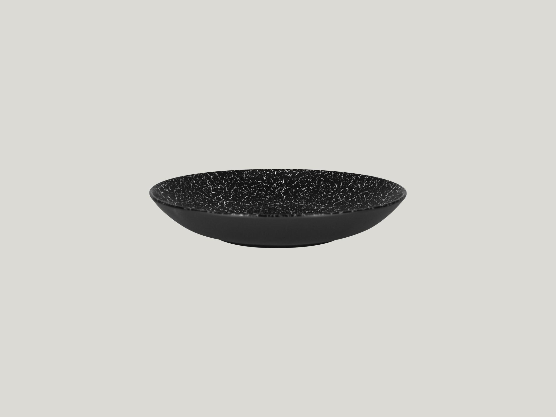 Talíř hluboký 69 cl - černá