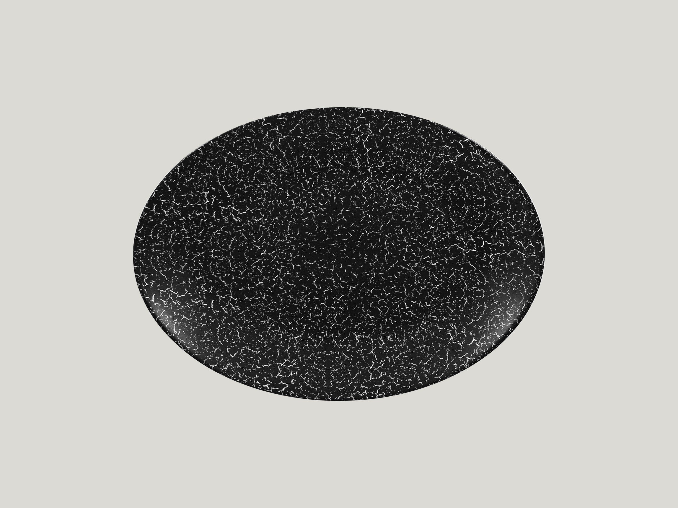 Talíř oválný 32 x 23 cm - černá