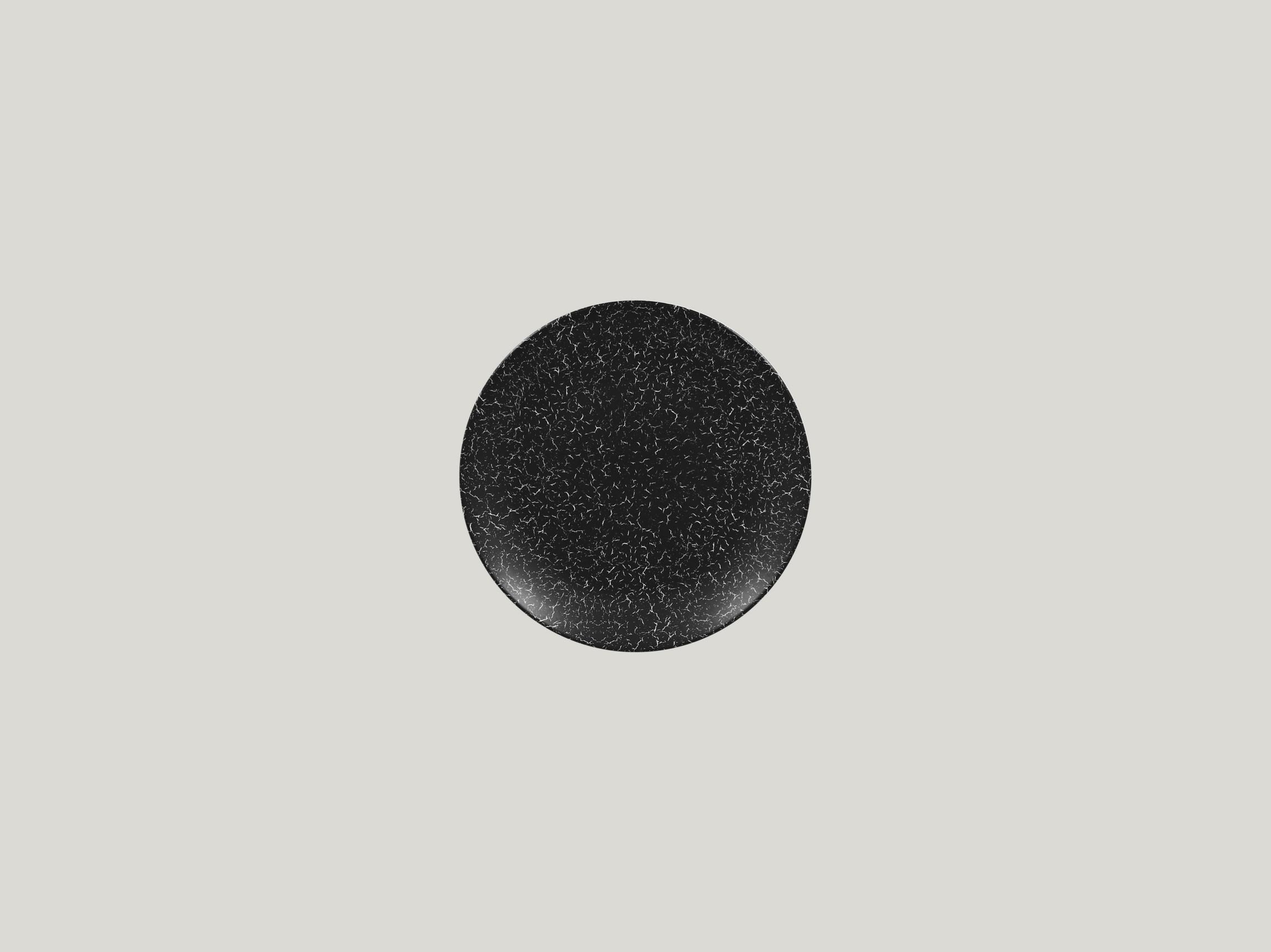 Talíř mělký dezertní 15 cm - černá