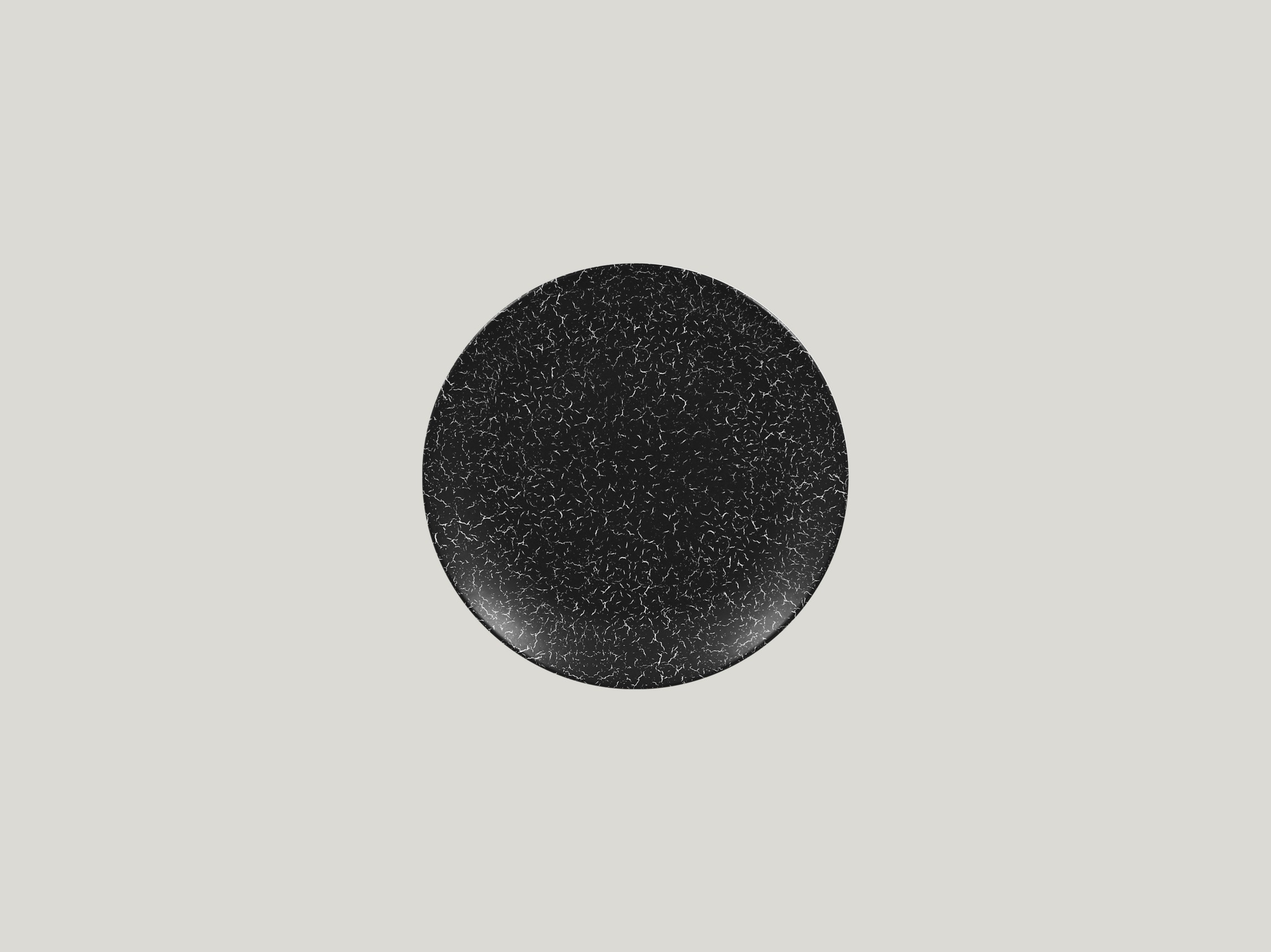 Talíř mělký dezertní 18 cm - černá