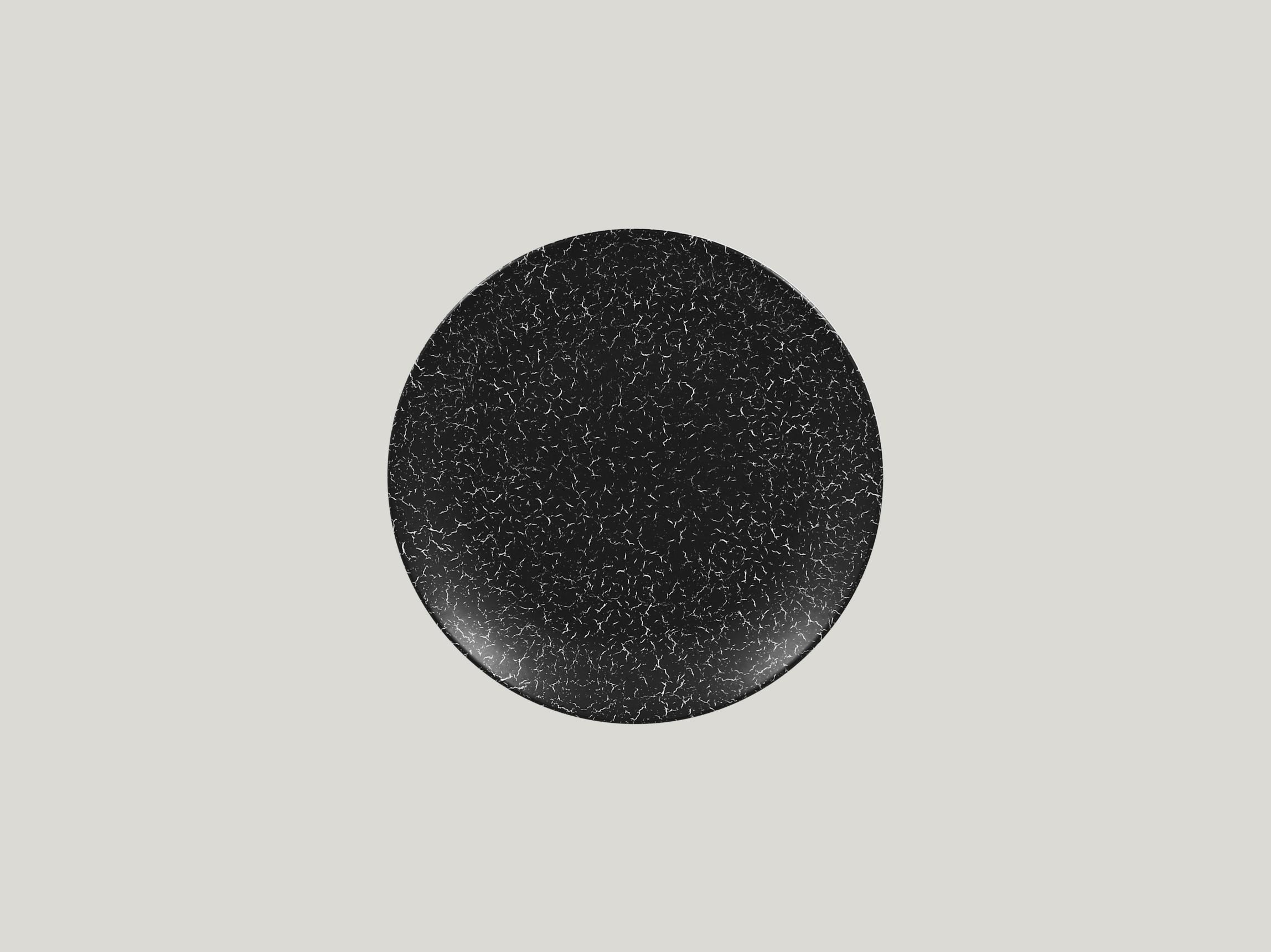 Talíř mělký 21 cm - černá