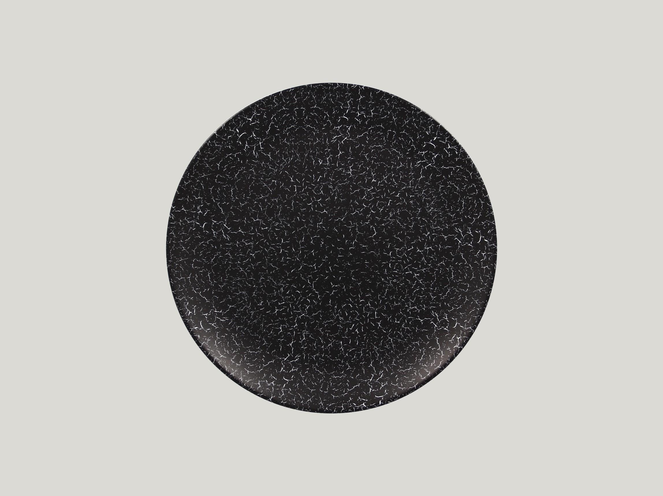 Talíř mělký 27 cm - černá