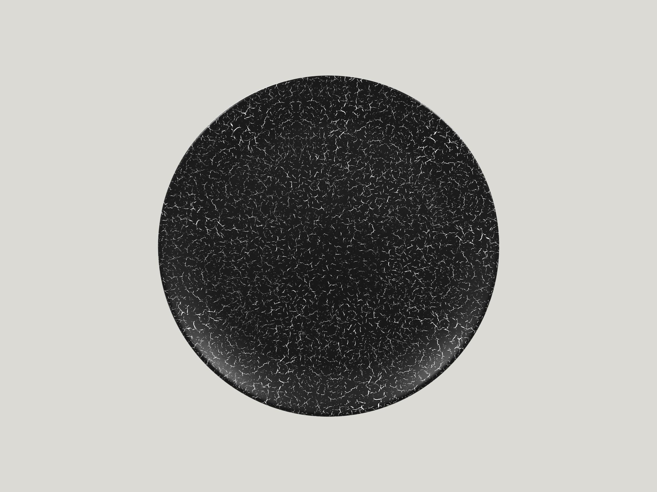 Talíř mělký 28 cm - černá