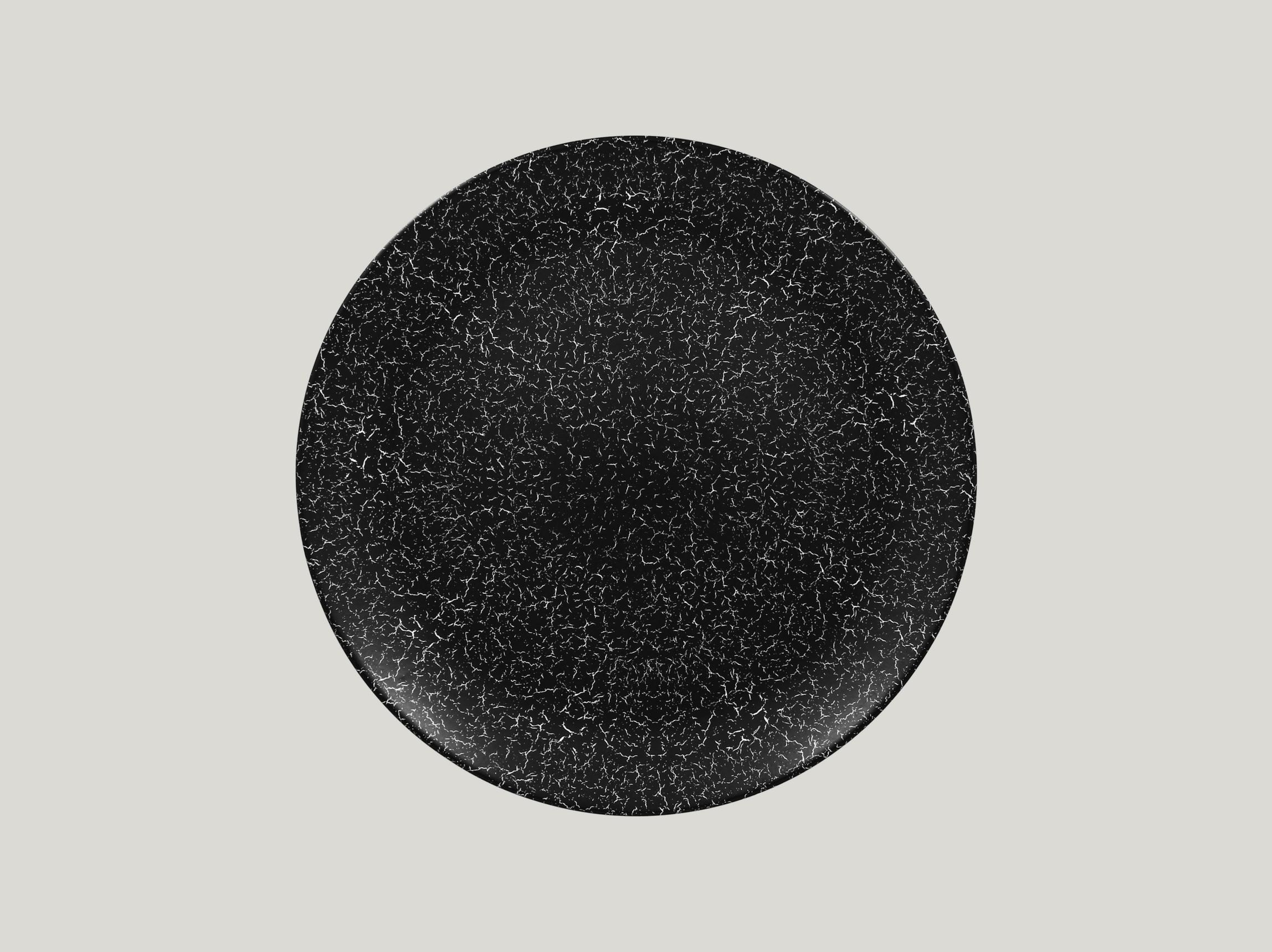 Talíř mělký 29 cm - černá