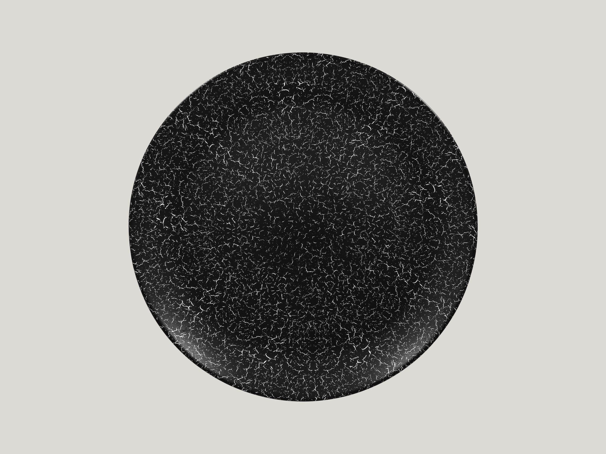 Talíř mělký 31 cm - černá