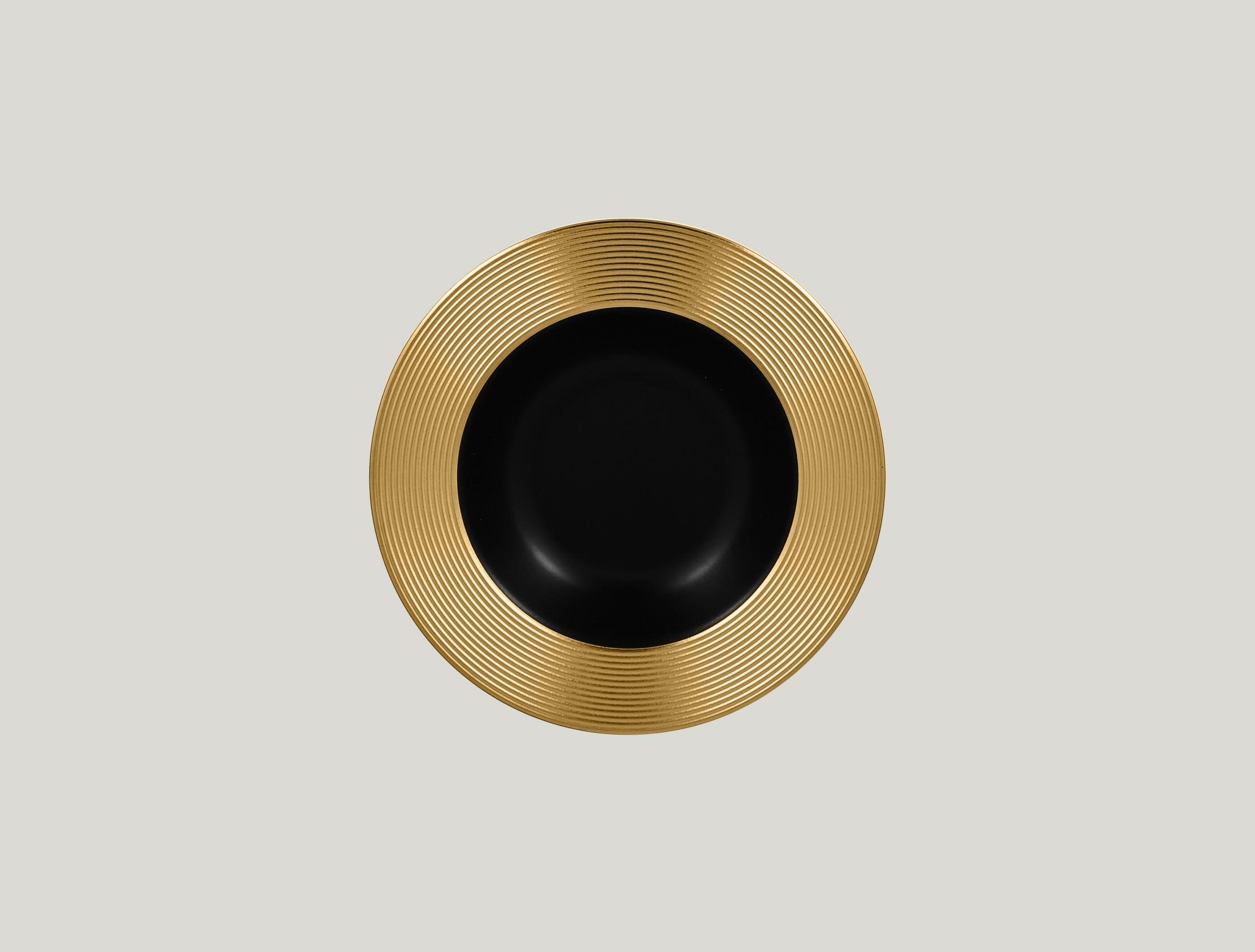 Hluboký talíř - gold ANTIC