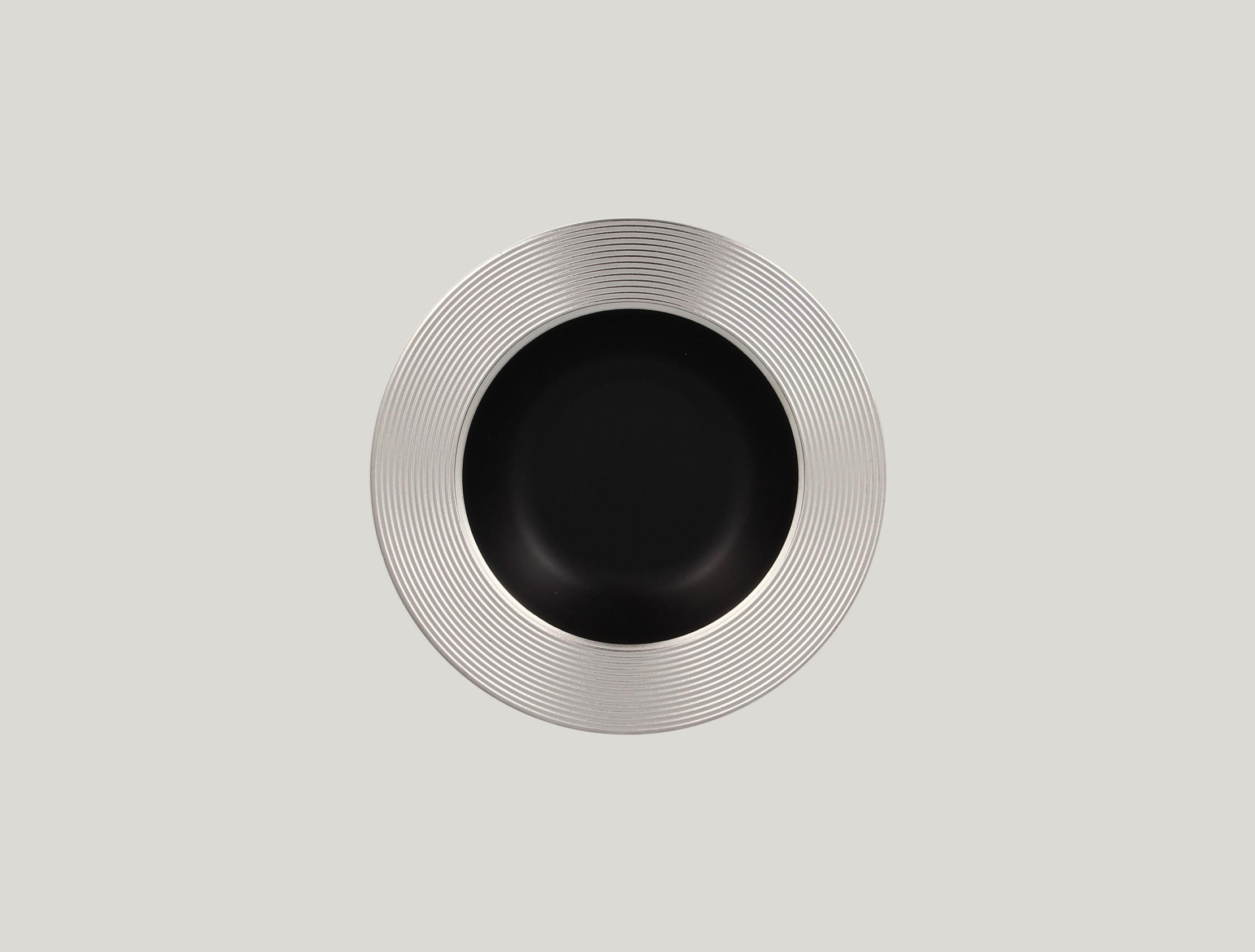 Hluboký talíř - silver ANTIC
