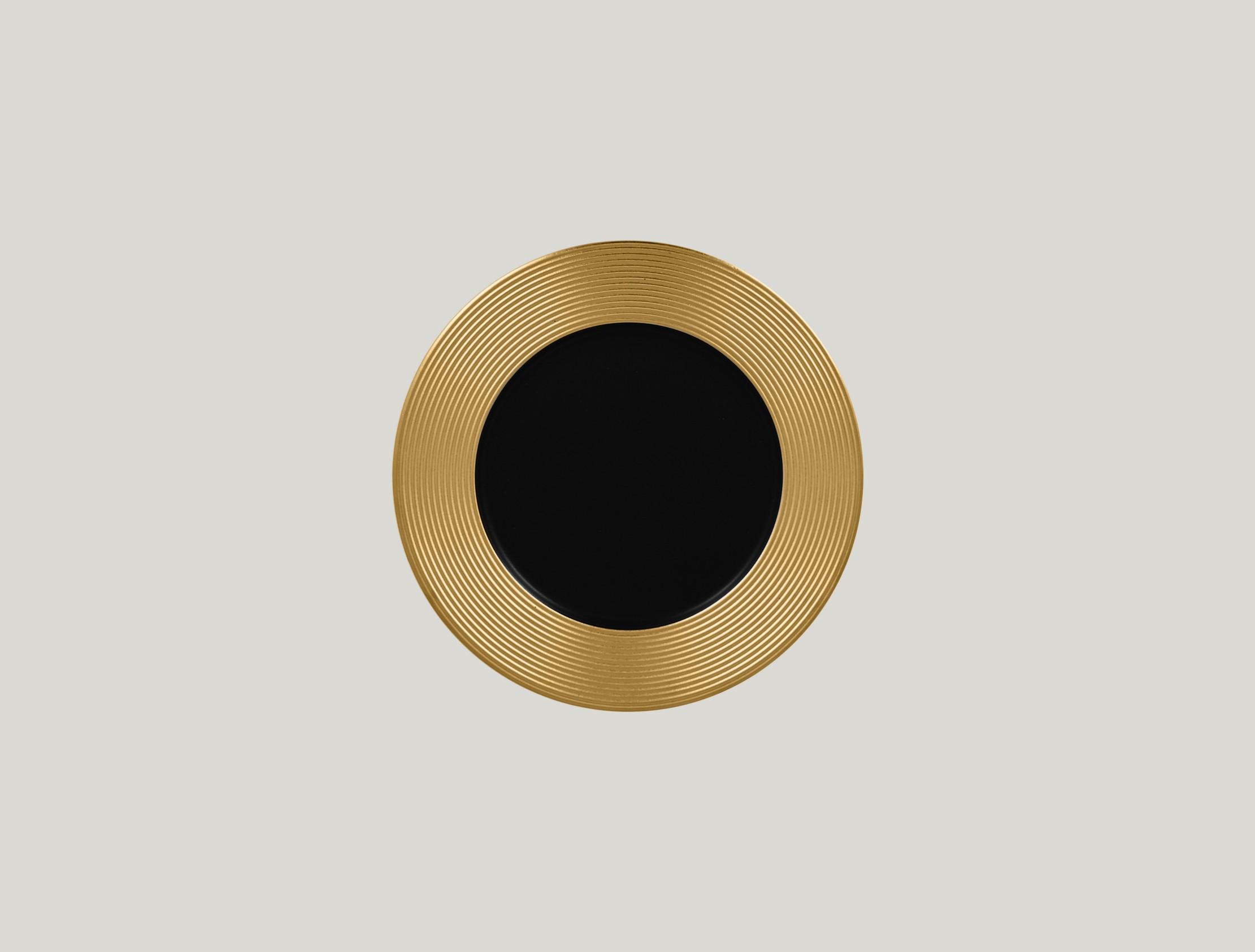 Mělký talíř - gold ANTIC